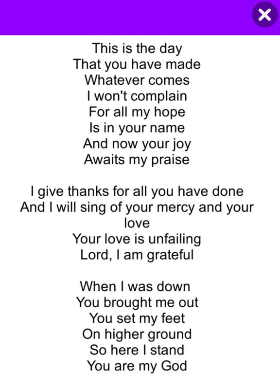 Hallelujah (English Songs) screenshot 9