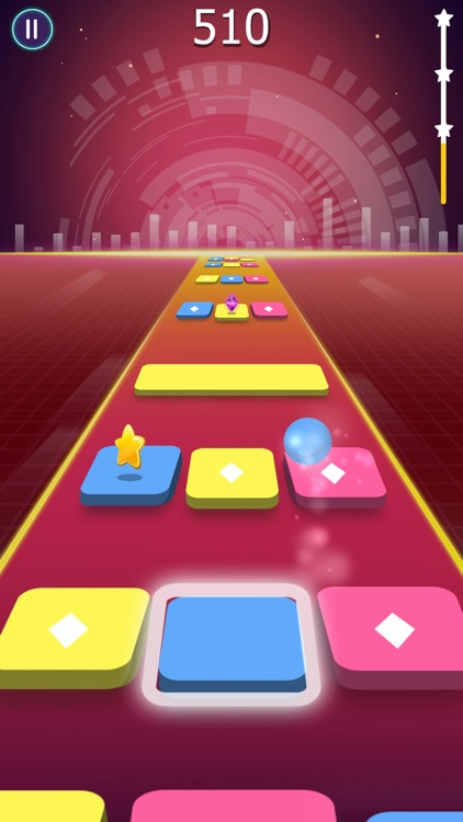 Beat Ball: Dancing Color Hop screenshot-3