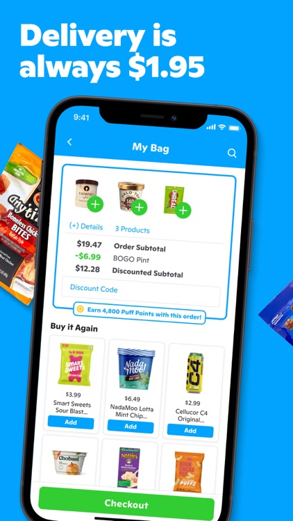 Gopuff—Alcohol & Food Delivery screenshot-3
