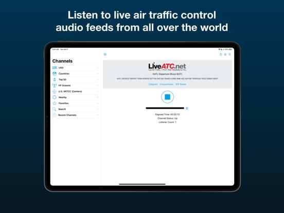 LiveATC Air Radioのおすすめ画像1