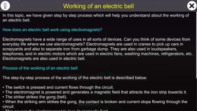 Working of an electric bell screenshot 1