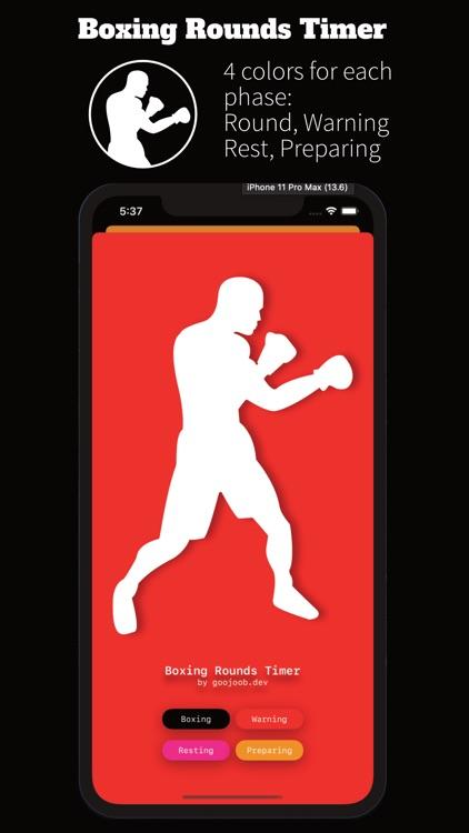 Boxing Rounds Timer screenshot-3