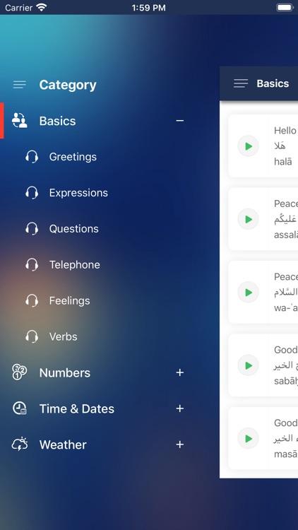 Qatari Phrasebook screenshot-3