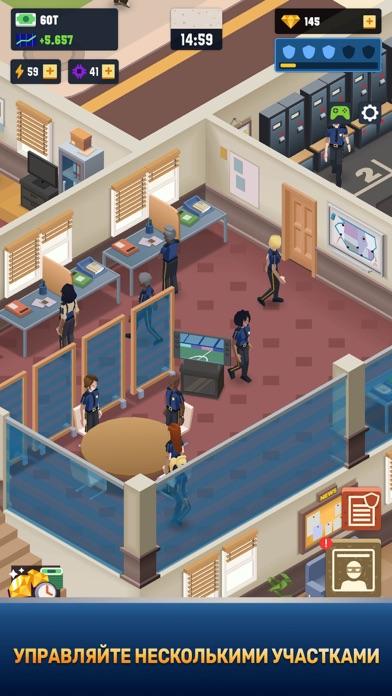 Скриншот №2 к Idle Police Tycoon - Cops Game