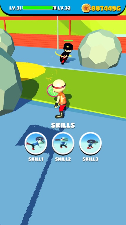 Shoot Runner : Hero vs Ninja screenshot-8