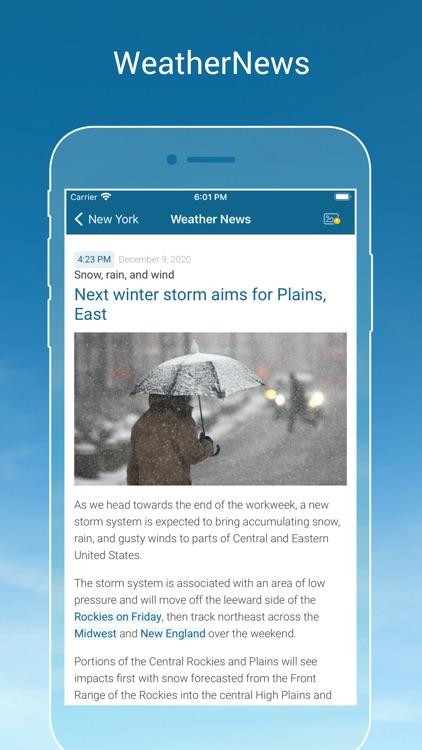 Weather & Radar USA Pro screenshot-3