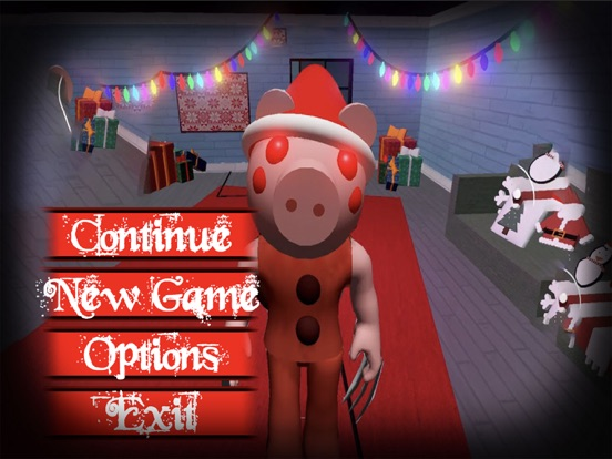 Ipad Screen Shot Piggy Santa Claus 0
