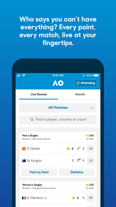 cancel Australian Open Tennis 2021 app subscription image 1