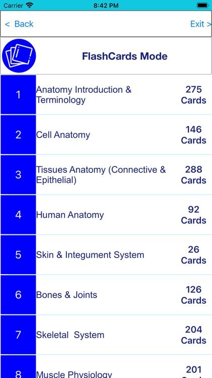 Anatomy & Physiology 22 topics