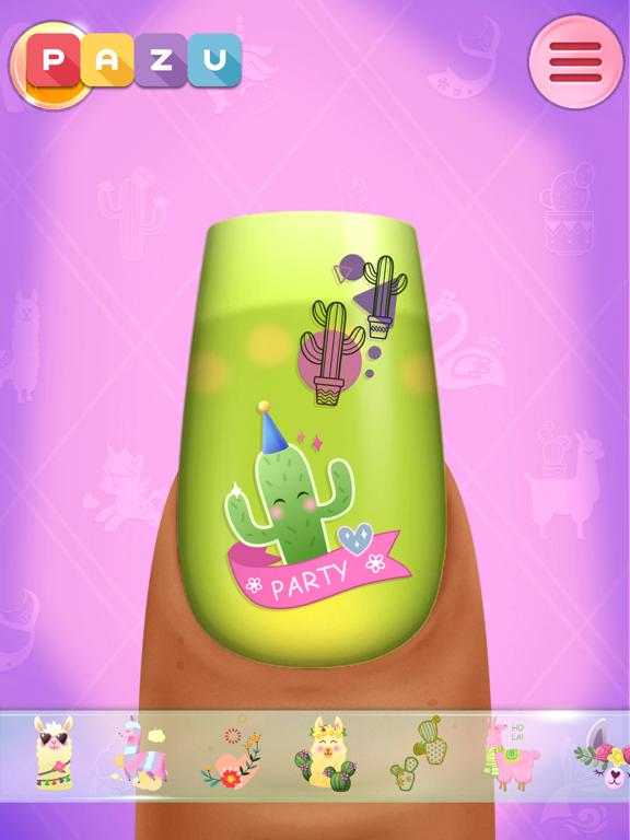 子供のためのネイルアートサロンゲームのおすすめ画像7