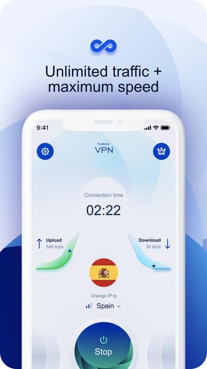 Turbine VPN Fast connection screenshot-3