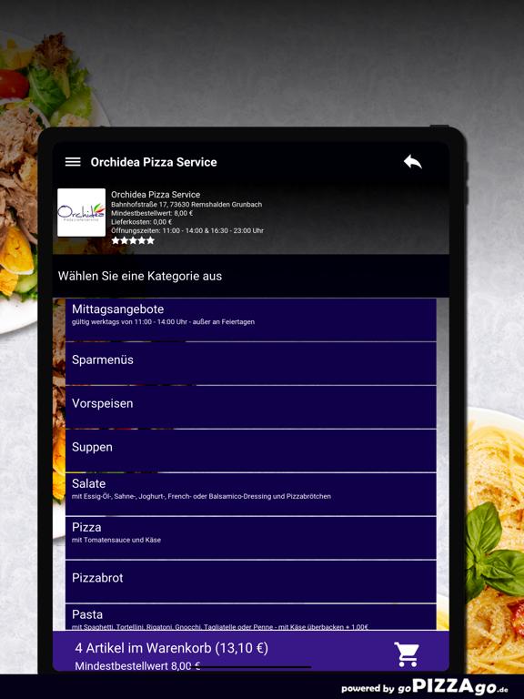 Orchidea Pizza Remshalden screenshot 8