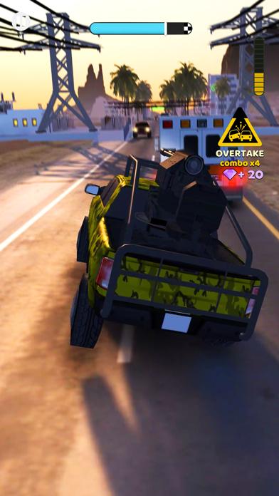 Rush Hour 3D screenshot two