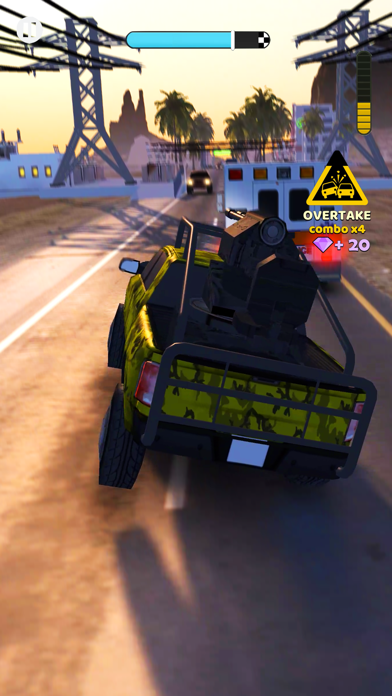 Rush Hour 3D screenshot 2