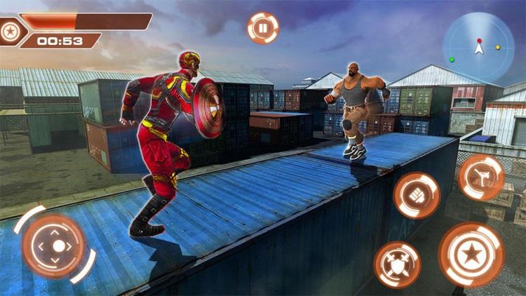 Iron Spider Hero Rope Flying