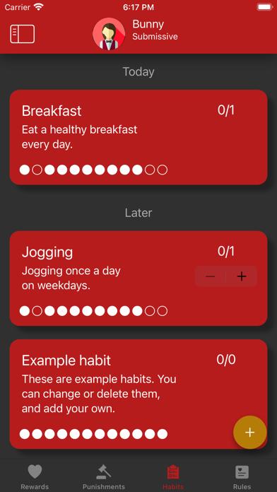 cancel Obedience: BDSM habit tracker app subscription image 1