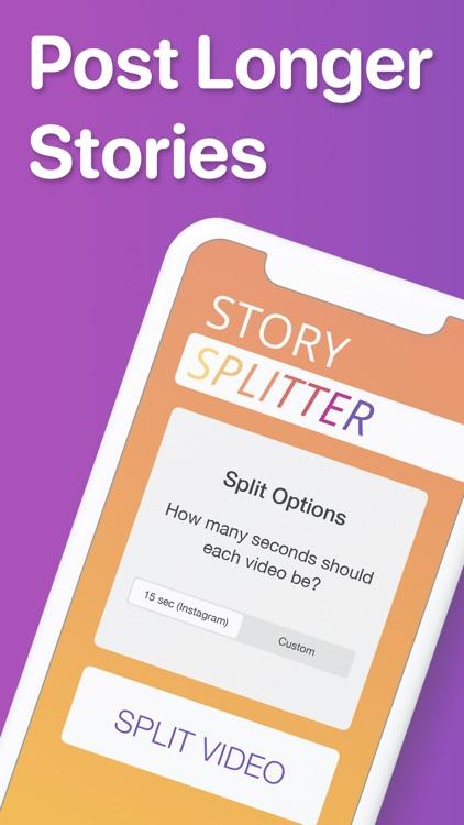 Story Splitter: Longer Stories