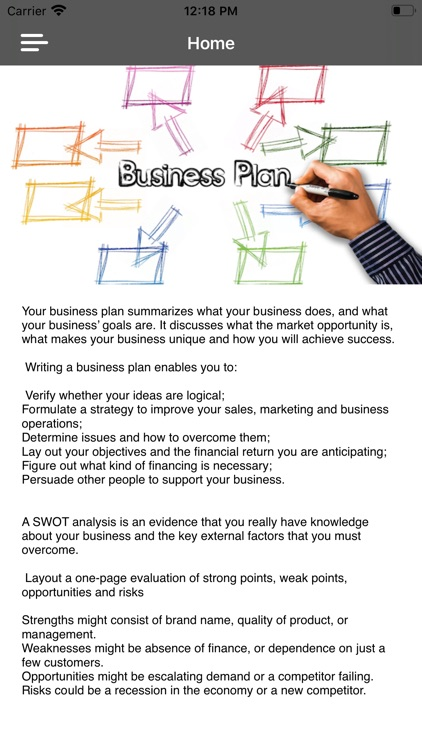 Business Plan Startup Guide