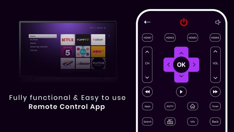 MTS: Universal Remote For ROKU screenshot-4