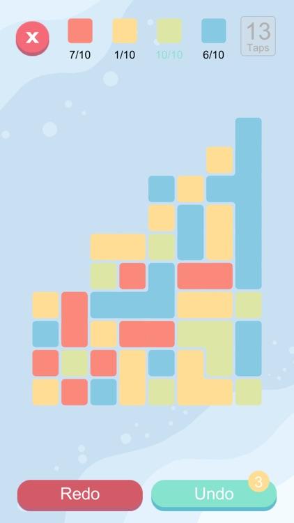 Blocks And Taps - Brain puzzle