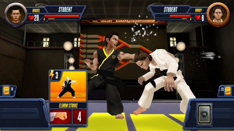 Cobra Kai: Card Fighter screenshot-0