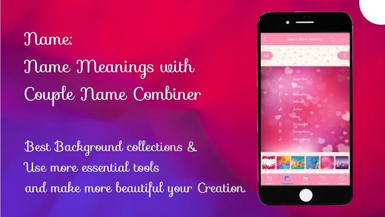 Naming: Name Meaning, Combiner screenshot-4