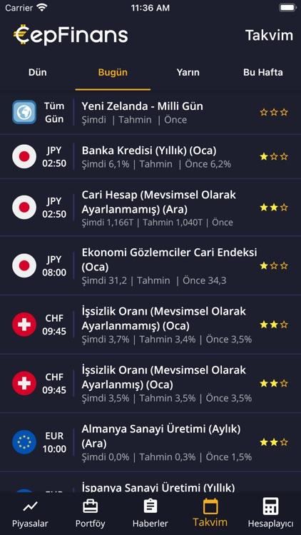 CepFinans: Döviz Altın Borsa screenshot-7