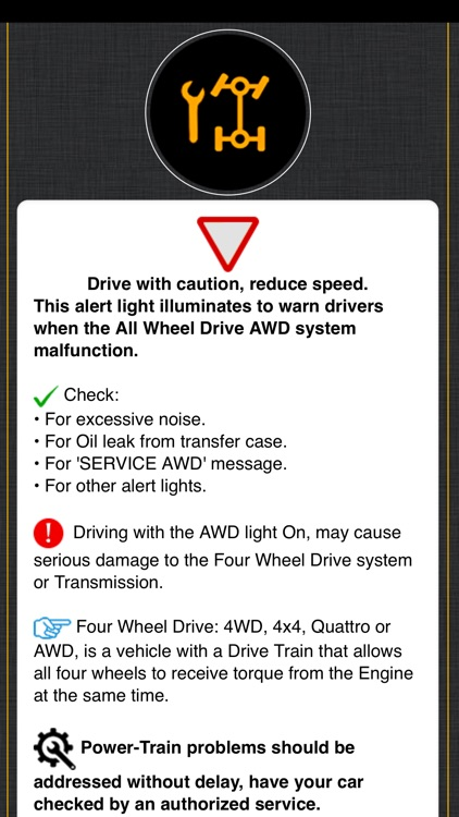 Land Rover Warning Lights Info screenshot-6