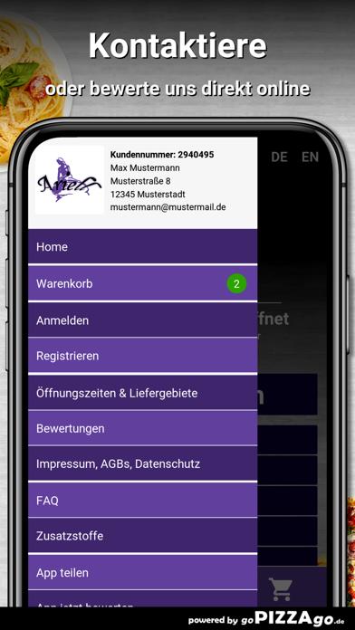 Ariell Pizza Service Stuttgart screenshot 3