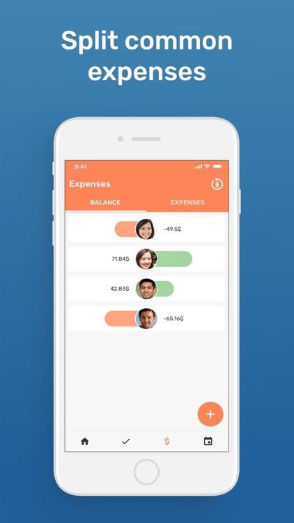Flaters - Roommate Organizer screenshot-3