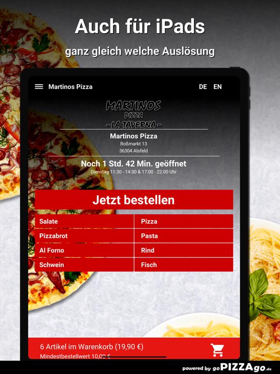 Martinos Pizza Alsfeld screenshot 7