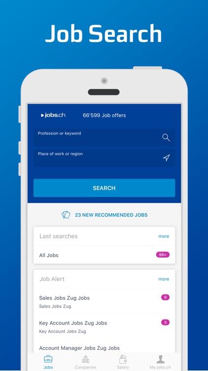 jobs.ch – Job Search screenshot-0