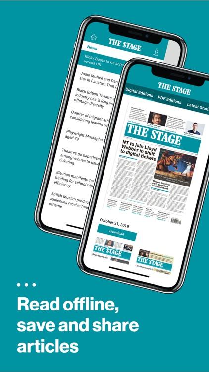 The Stage: Theatre News & Jobs screenshot-6