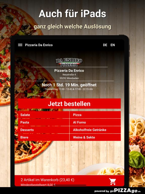Pizzeria Da Enrico Wiesbaden screenshot 7