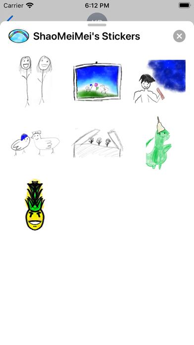 ShaoMeiMei's Stickers screenshot 3