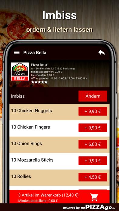 Pizza Bella Backnang screenshot 6