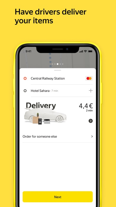 Yandex Go — taxi and delivery для ПК