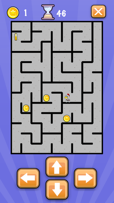 Simple Maze Game screenshot 4