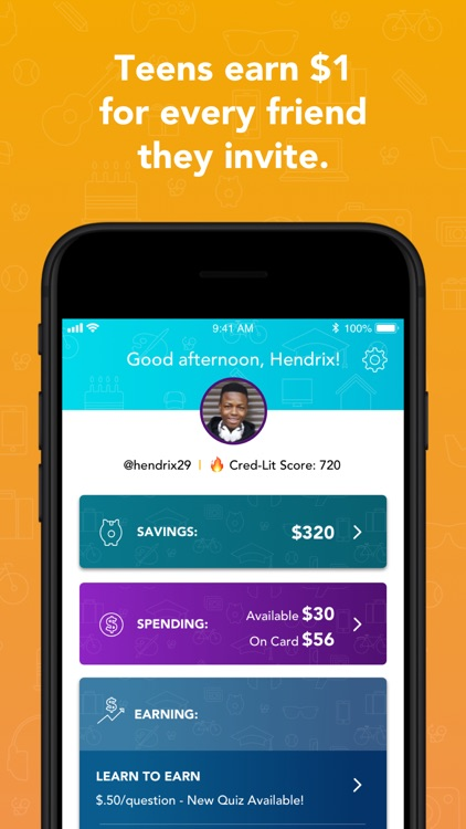 Goalsetter: a family money app screenshot-3