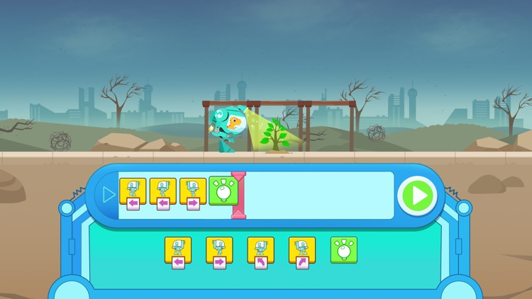 Dinosaur Coding games for kids screenshot-3