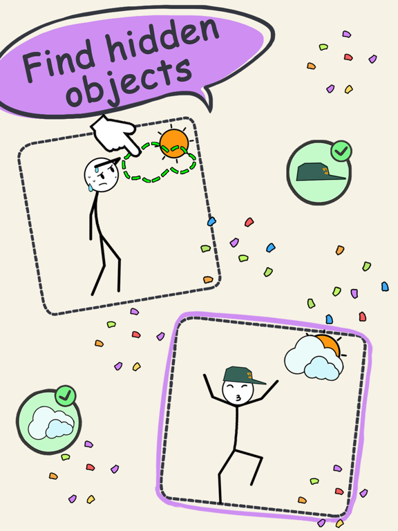 Draw Puzzle 3: missing part screenshot 13