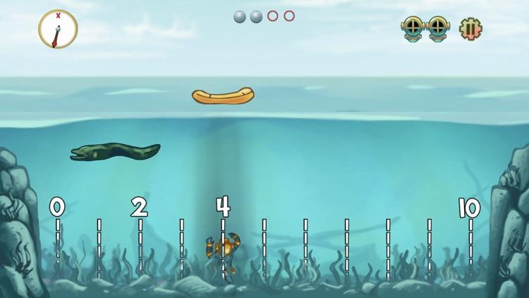 Pearl Diver: Number Line Math screenshot-6