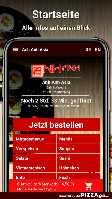 Anh Anh Asia Unterhaching screenshot 2