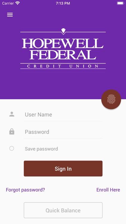 Hopewell FCU Mobile Banking