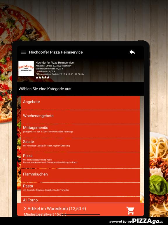 Hochdorfer Pizza Hochdorf screenshot 8