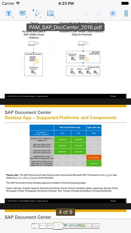 SAP Document Center screenshot-4