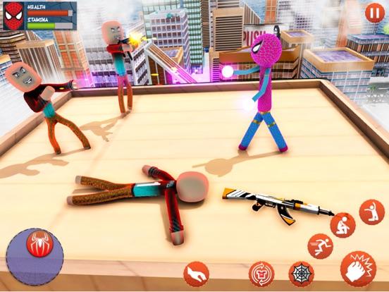 Amazing Rope Stickman Warriors screenshot 7
