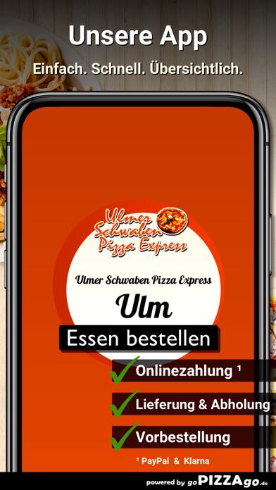 lmer Schwaben Pizza Express screenshot 1