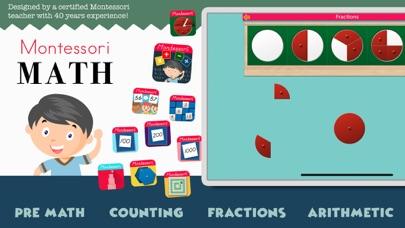 Montessori Math School Edition screenshot 1
