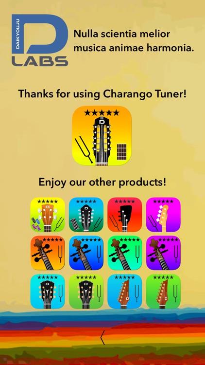 Charango Tuner Pro screenshot-4